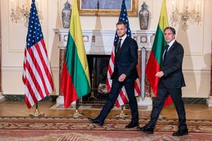 布林肯會晤立陶宛外長 共同對抗中共脅迫
