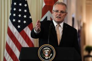 特朗普對華政策獲認同 澳總理:澳美聯盟很重要