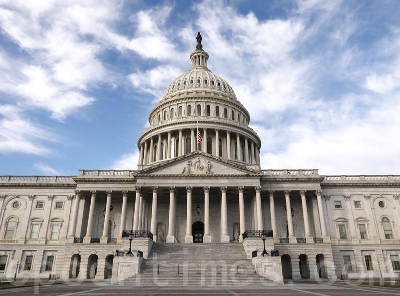 周四(3月5日),美國參議院以壓倒性多數投票,通過了一項龐大的支出計劃,斥資83億美元用於美國政府應對中共病毒疾病。圖為美國國會。(Samira Bouaou/大紀元)
