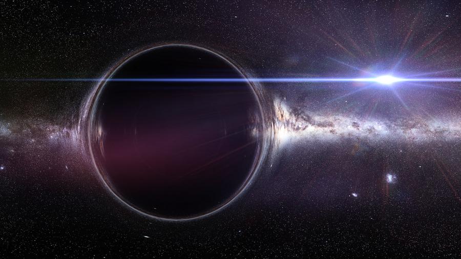 研究:宇宙中或存在星系級大小的黑洞