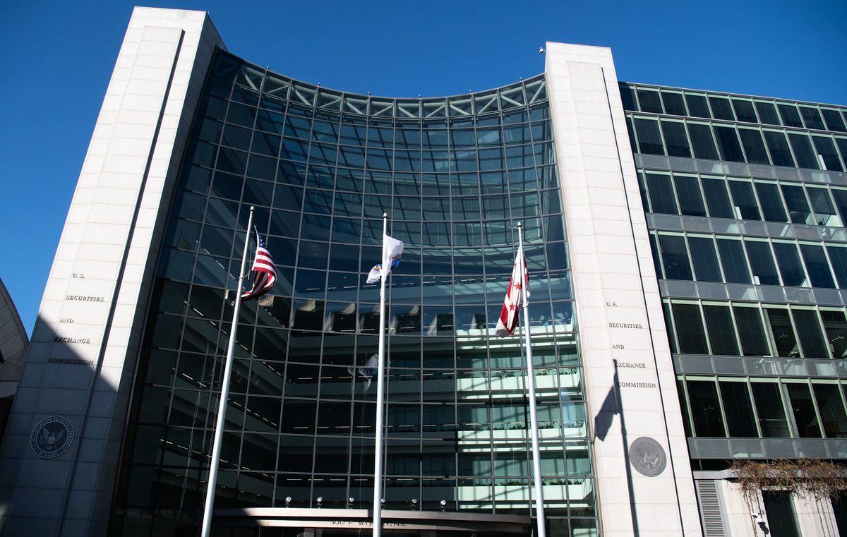 圖為美國證券交易委員會(SEC)的總部。(SAUL LOEB/AFP via Getty Images)