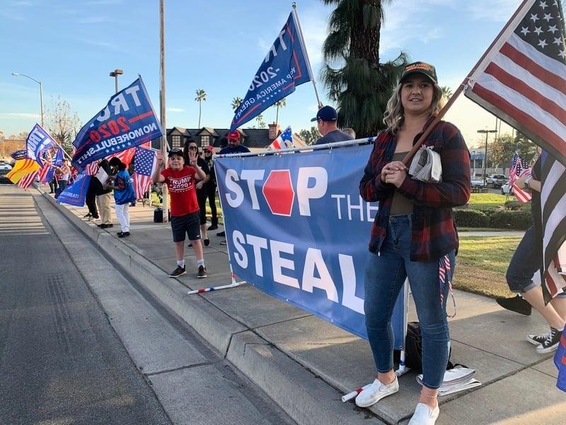 加州選民熱愛特朗普:不分晝夜支持你!