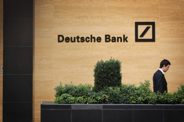 德意志銀行2015年虧損67億歐元,創下150年來最高紀錄。(Dan Kitwood/Getty Images)