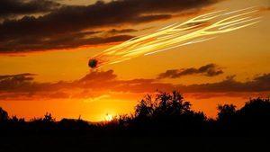 火球飛越美加 釋放能量相當於440磅TNT