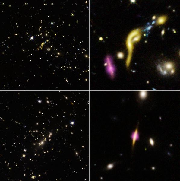 哈勃發現早期宇宙中六個已死亡星系