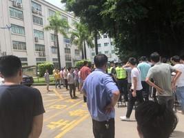 粵上市電子公司突倒閉 大批供應商員工維權
