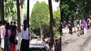 【現場影片】武漢大批青年排隊應聘輔警