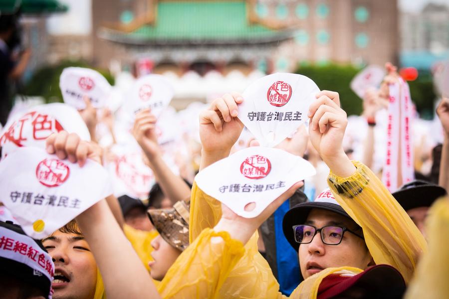 李惠仁:新聞自由不是用假訊息攻擊自己國家