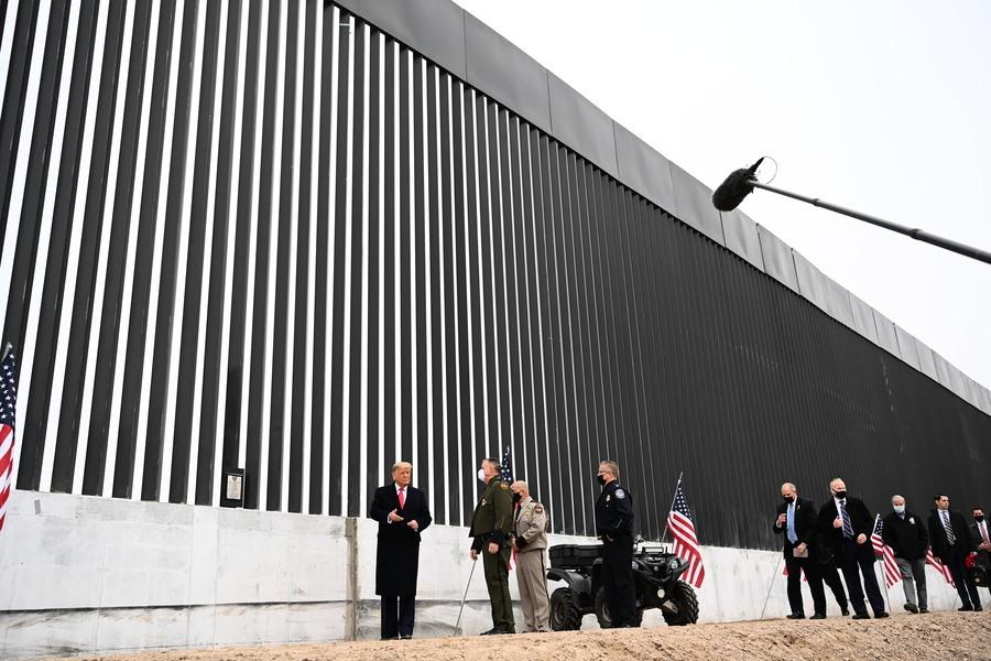 共和黨承諾若奪回眾院 將重啟美墨邊境牆建設