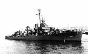 美二戰驅逐艦殘骸在菲律賓海被發現