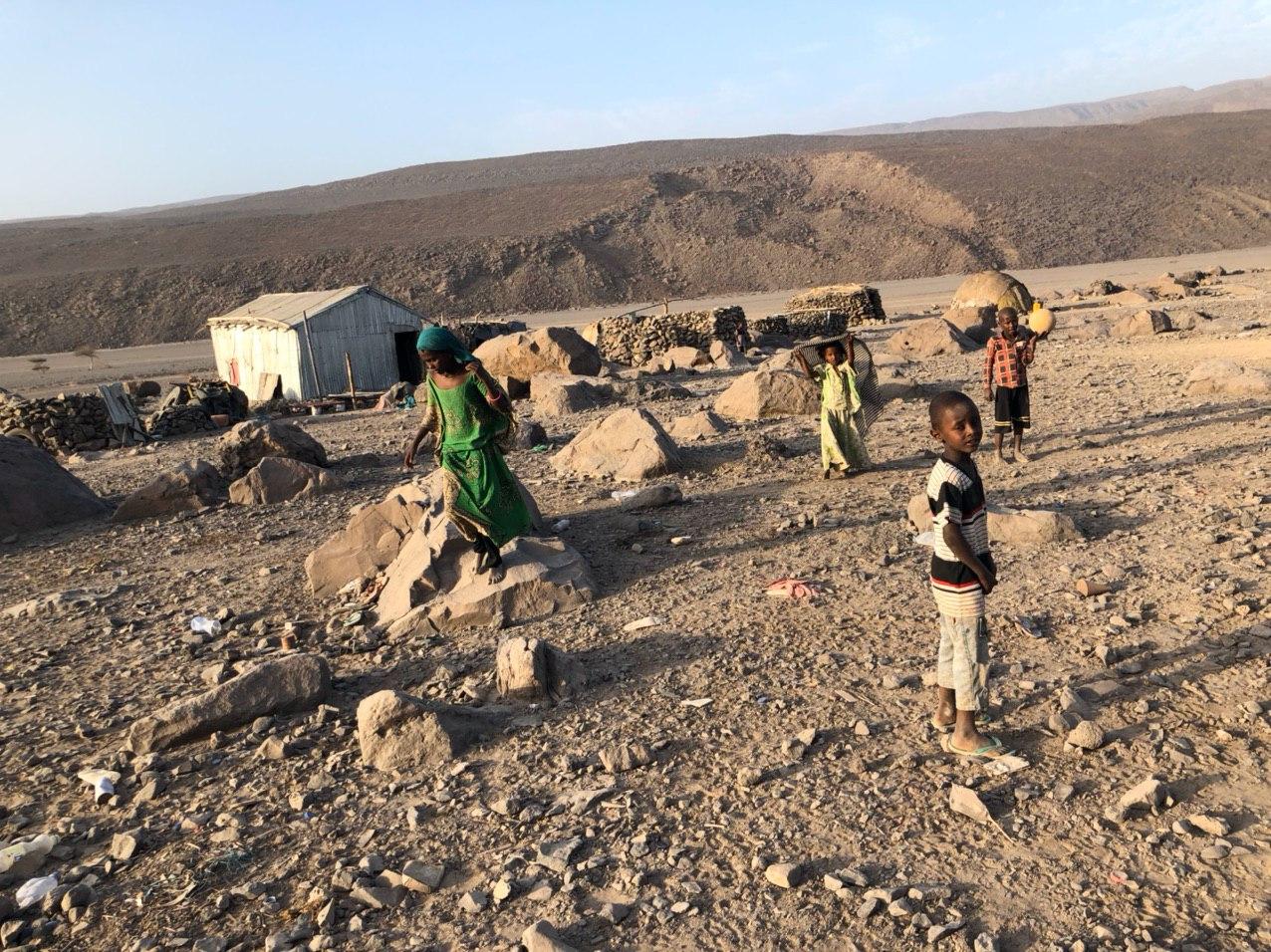 中共把非洲當做重要的戰略基地。圖為埃塞俄比亞一個山谷部落。(受訪者提供)