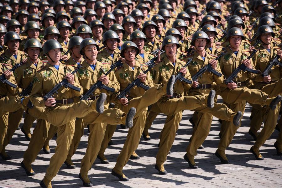 探秘世界各國真實軍力—北韓窮兵黷武