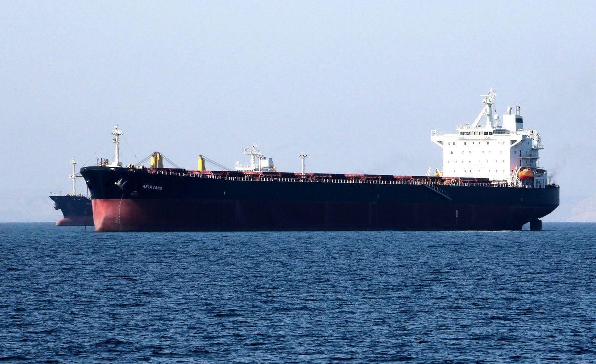 伊朗違反美國制裁令,將燃油偷運往中國。(ATTA KENARE/AFP/Getty Images)