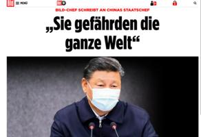 德最大報紙遭中共大使施壓 主編公開信回絕