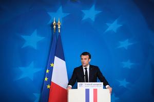 馬克龍:歐洲對中共的「天真」時代已終結