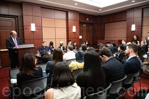 香港抗爭者華府發聲 國際需共同應對共產黨