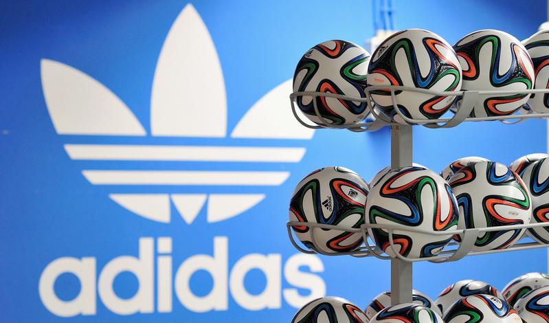 運動品牌Adidas。(Lennart Preiss/Getty Images for adidas)