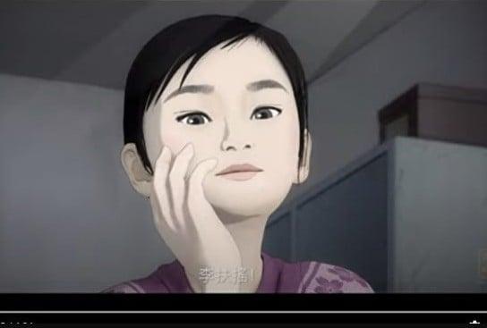新唐人電視台「傳奇時代」欄目與國際著名漫畫家郭競雄聯手製作並推出基於真實故事的動畫新片《扶搖直上》。(影片截圖)