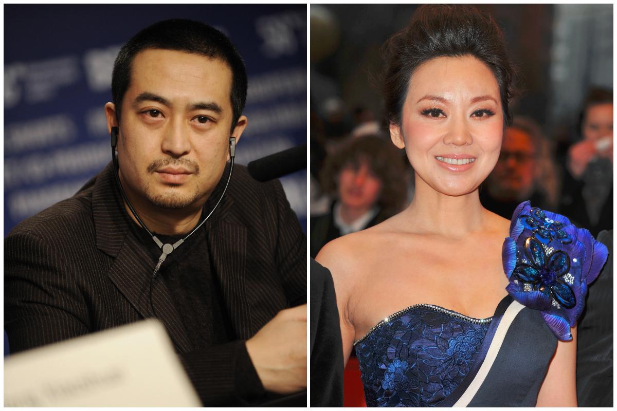 大陸演員張嘉譯(左)與閆妮資料圖。(Getty Images/大紀元合成)