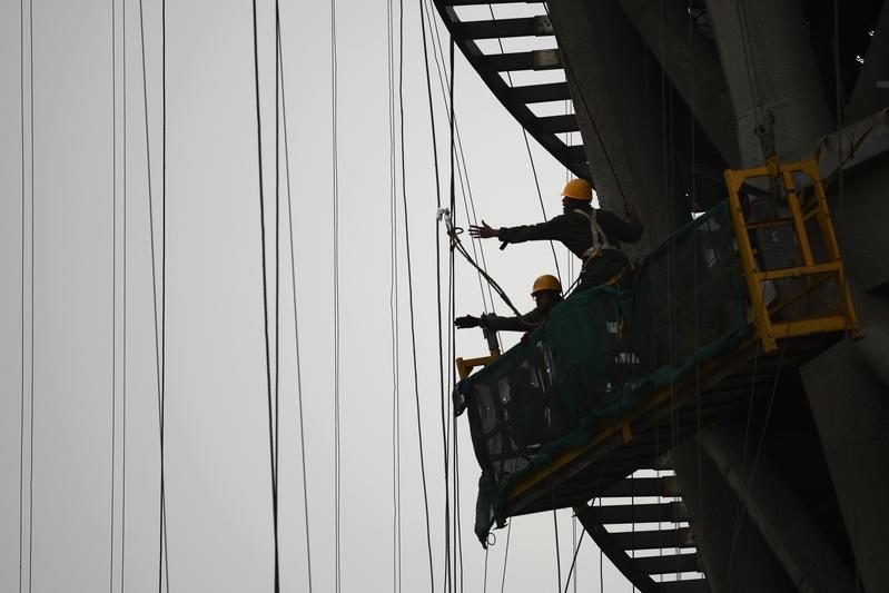 有海外數據公司分析認為,中國人口將比中共官方預計早6年提前見頂,中國經濟將會受到極大影響。圖為資料照。(WANG ZHAO/AFP/Getty Images)