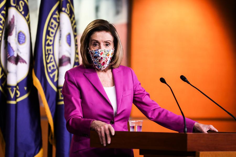美眾議院通過法規 議員不戴口罩將面臨罰款