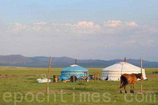 內蒙古草原。(大紀元)