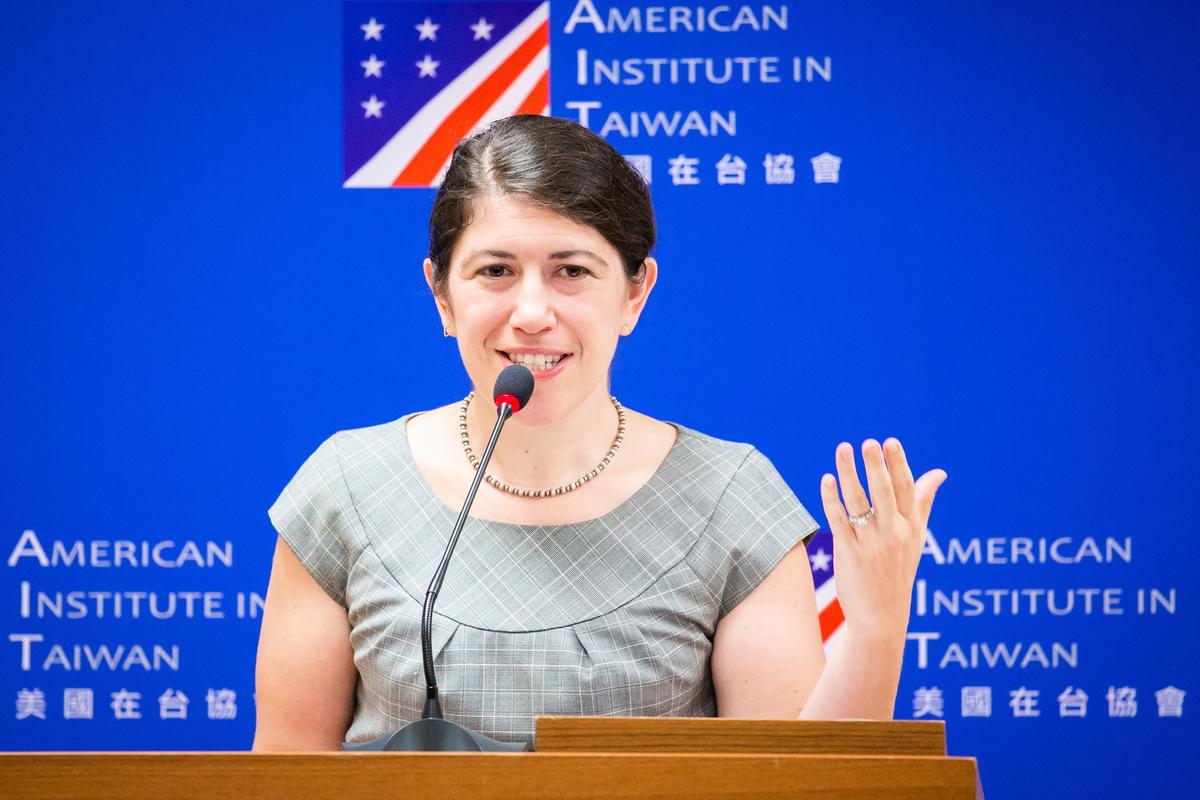 美國在台協會(AIT)發言人孟雨荷(Amanda Mansour)10日表示,美國已經清楚向北京表明,必須停止脅迫台灣,並與台灣民選政府恢復對話。圖為資料照。(陳柏州/大紀元)