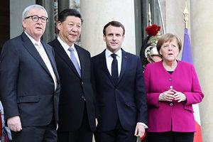 習近平訪歐後 歐盟領袖批中歐貿易不對等