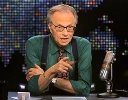 前CNN王牌主持人Larry King染疫住院