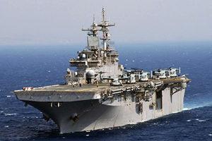 美首派配F-35戰機軍艦 在南海聯合軍演