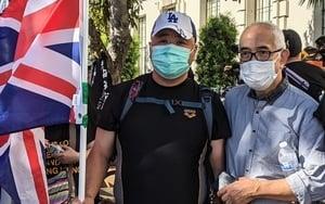 程翔談蘋果日報事件  旅美港人:昔日香港不再