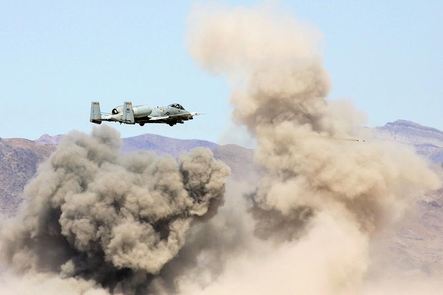 單日摧毀23輛坦克 美軍A-10攻擊機創紀錄