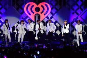 防彈少年團於2021 iHeartRadio音樂獎獲兩獎
