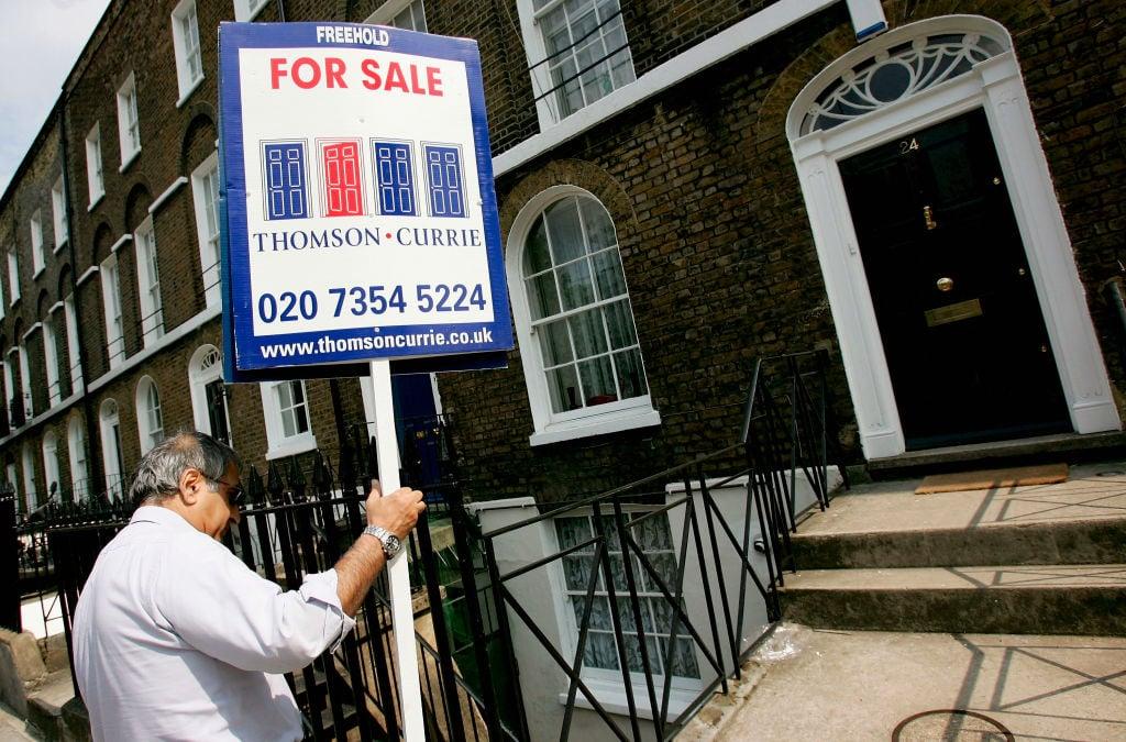 香港移民正在推動英國一些熱點地區房價上漲。(Graeme Robertson/Getty Images)