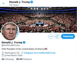 社交媒體噤聲保守派 特朗普警告:採取大行動