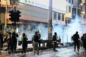 103萬港人上街 警方中止遊行拘捕400人