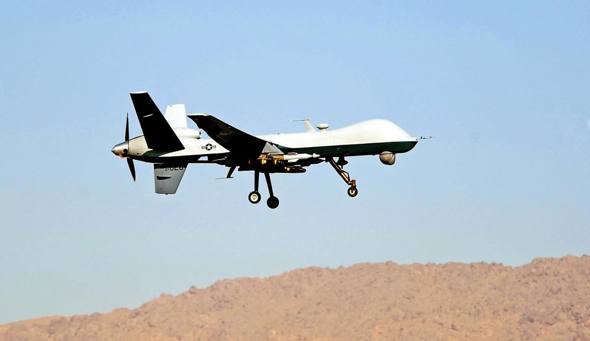 周二(10月13日),白宮告訴國會,將尋求出售MQ-9無人機(見圖)和沿海防禦導彈系統給台灣。(Photo by JAMES LEE HARPER JR. / USAF / AFP)