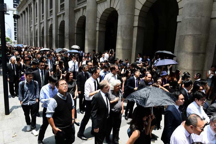 【8.7反送中直播】香港法律界二度黑衣遊行