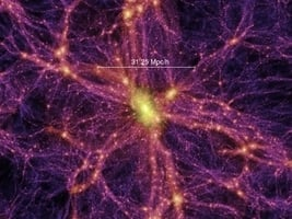 新研究找到消失在宇宙網中40%隱藏物質