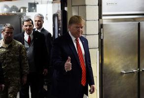 特朗普突訪阿富汗 與美軍共進感恩節晚餐