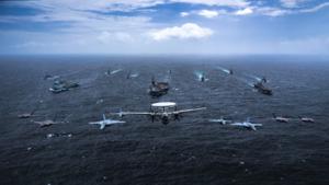 美日英澳艦艇集結聯合舉行軍演 陣容令人震撼