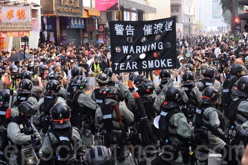 胡烈:中共才是香港問題的元兇
