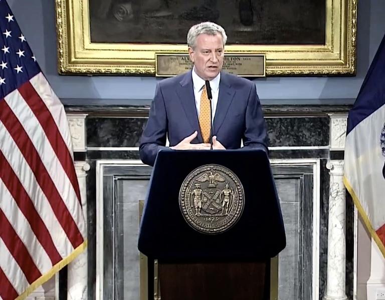 紐約市周二宣佈48小時內可能封城