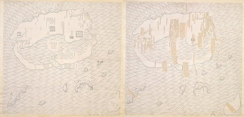 台灣故宮「說‧古地圖」特展 訴說時代故事