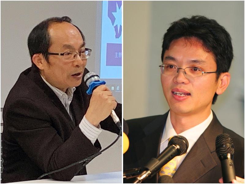 悉尼科技大學中國問題專家馮崇義教授與前中共外交官陳用林。(大紀元合成)