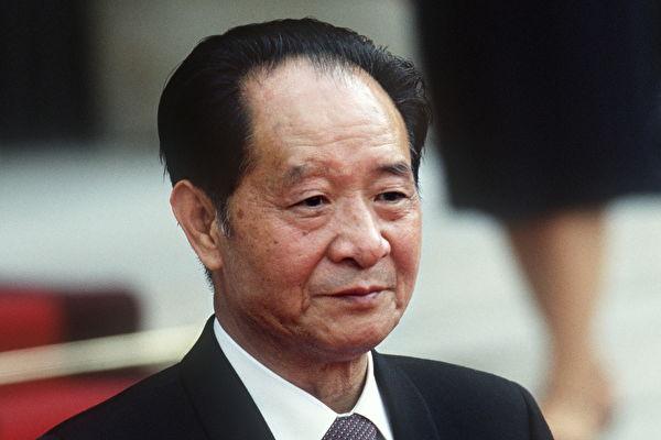 1987年1月,胡耀邦被連續批鬥七天後下台。(PASCAL GEORGE/AFP/Getty Images)