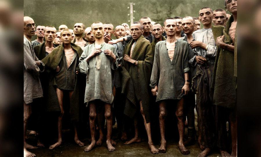 組圖:上色大屠殺黑白照 攝影師望歷史不重演