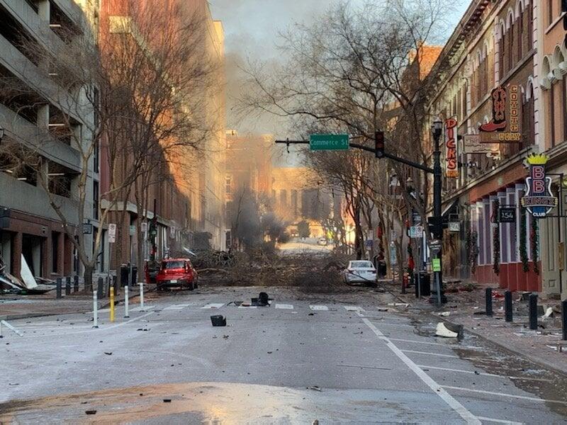 美納士維市中心發生爆炸 警方:蓄意事件