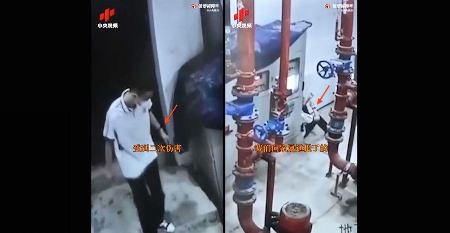 央視公佈成都學生墜樓監控錄像 被指漏洞百出