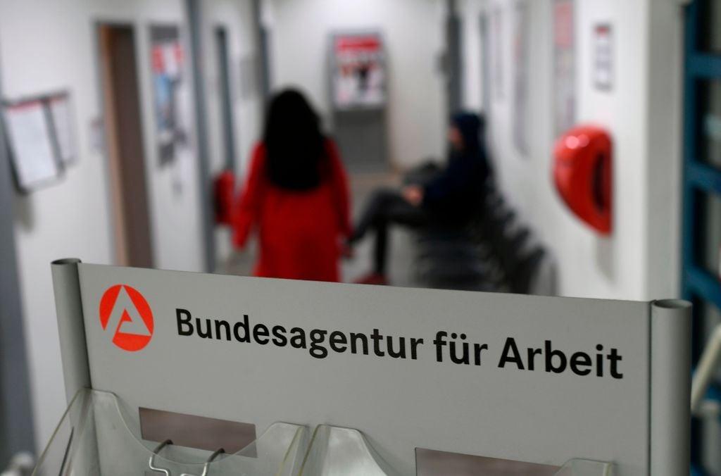 德國去年12月份的失業人數達到270.7萬。(INA FASSBENDER / AFP via Getty Images)